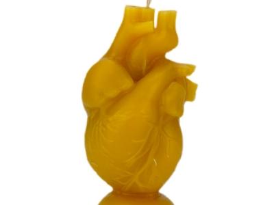 Свеча из воска Сердце