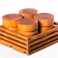 Мед в бочоночках из дерева