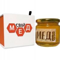 Мед в картонній коробці з покриттям
