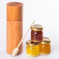 Мед в маленьком тубусе